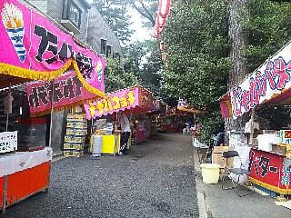 t4549瀬田玉川神社のたくさんの屋台
